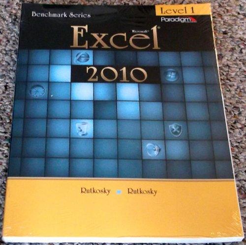MICROSOFT EXCEL 2010 LEV.1-W/C N/A edition cover