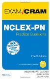 NCLEX-PN Practice Questions Exam Cram  4th 2015 edition cover