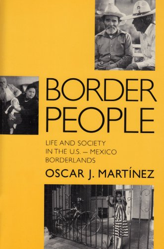 Border People Life and Society in the U. S.- Mexico Borderlands N/A edition cover