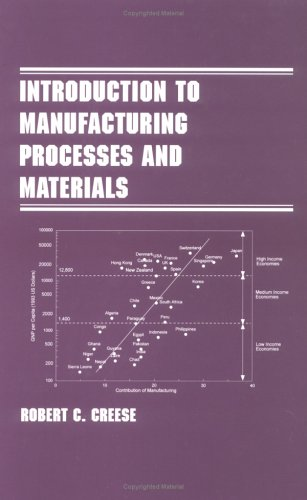 Introduction to Manufacturing Processes and Materials   1999 edition cover