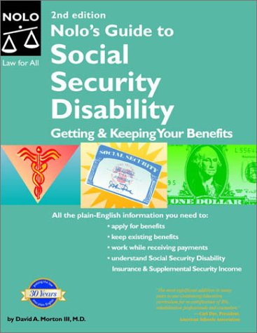 Nolo's Guide to Social Security Disability : Getting and Keeping Your Benefits 2nd 2003 (Revised) edition cover
