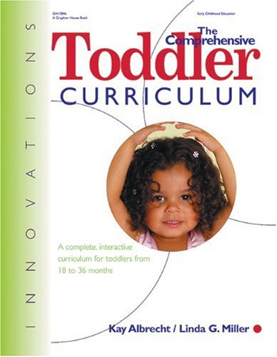 Comprehensive Toddler Curriculum   2001 edition cover