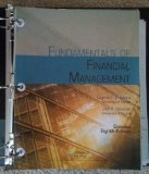 FUND.OF FINANCIAL MGMT:CONCISE-TEXT     N/A 9781285065144 Front Cover