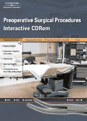 Preoperative Surgical Procedures for the Surgical   2007 9781401898144 Front Cover