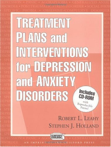 Treatment Plans and Interventions for Depression and Anxiety Disorders   2000 9781572305144 Front Cover