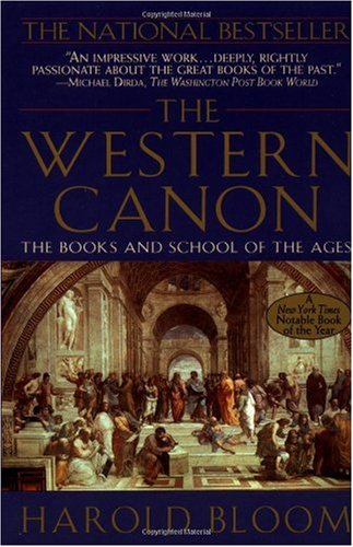 Western Canon The Books and School of the Ages  1994 edition cover