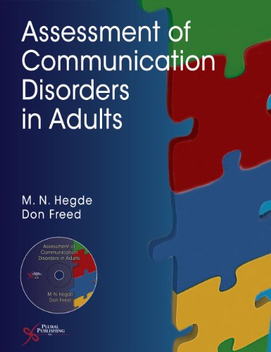 Assessment of Communication Disorders in Adults   2011 edition cover