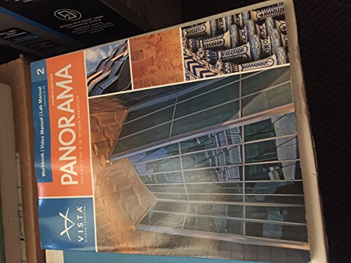 PANORAMA,VOLUME 2-WORKBOOK/VID N/A edition cover