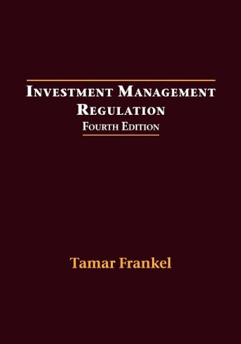 Investment Management Regulation, Fourth Edition  4th edition cover