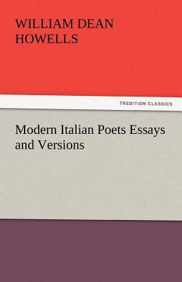 Modern Italian Poets Essays and Versions  N/A 9783842433144 Front Cover