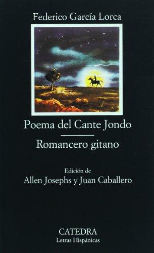 POEMA DEL CANTE JONDO; ROMANCERO GITANO  18th 1997 edition cover