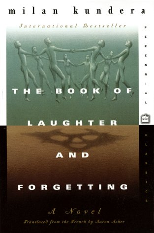 Book of Laughter and Forgetting   1996 edition cover