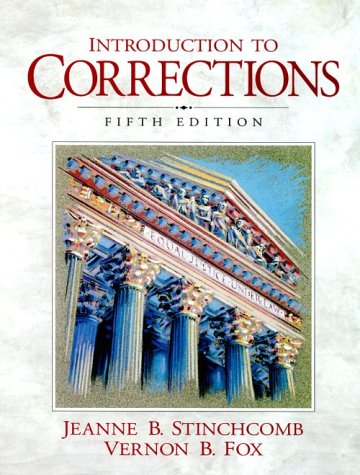 Introduction to Corrections  5th 1999 edition cover