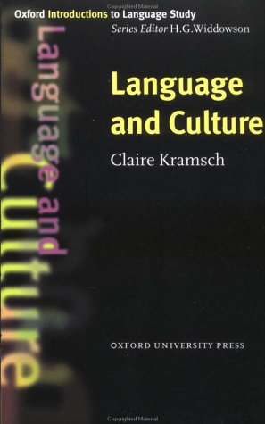 Language and Culture   1998 edition cover