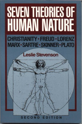 Seven Theories of Human Nature  2nd 1987 edition cover