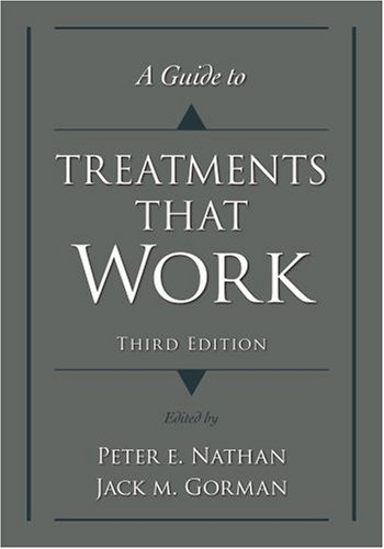 Guide to Treatments That Work  3rd 2007 (Revised) edition cover