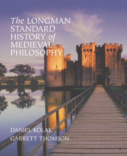 Longman Standard History of Medieval Philosophy   2008 edition cover
