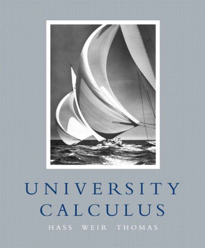 University Calculus   2007 edition cover