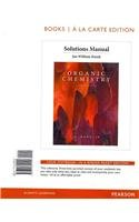 Solution Manual for Organic Chemistry, Books a la Carte Edition  8th 2013 edition cover