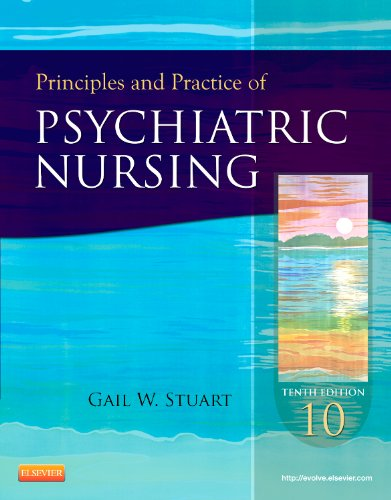 Principles and Practice of Psychiatric Nursing  10th 2013 edition cover