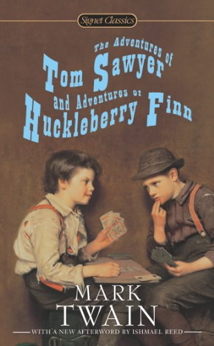 Adventures of Tom Sawyer and Adventures of Huckleberry Finn   2013 edition cover
