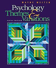 Psychology Themes and Variations 5th 2001 edition cover