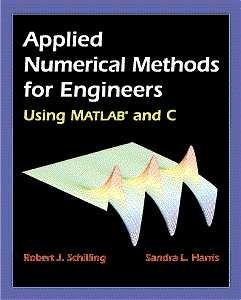 Applied Numerical Methods for Engineers Using MATLAB and C   2000 9780534370145 Front Cover