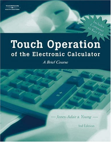 Touch Operation of the Electronic Calculator  3rd 2005 (Revised) edition cover