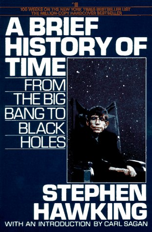 Brief History of Time From the Big Bang to Black Holes N/A 9780553346145 Front Cover