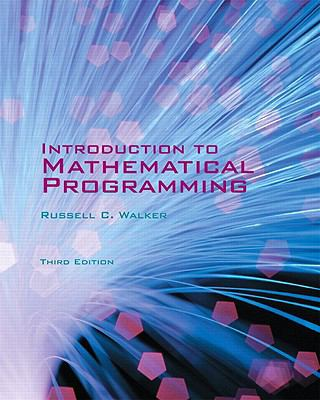Introduction to Mathematical Programming  3rd 2011 edition cover