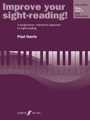 Improve Your Sight-Reading! Piano Level 4 / Early Intermediate  1998 edition cover