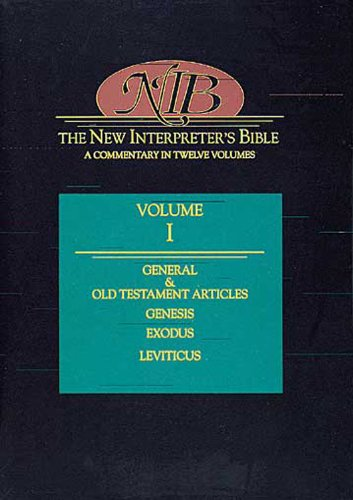 New Interpreter's Bible General Articles and Introduction, Commentary, and Reflections for Each Book of the Bible, Including the Apocryphal/Deuterocanonical Books  1994 edition cover