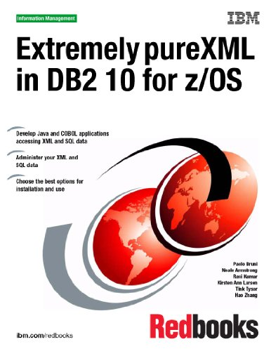 Extremely Purexml in DB2 10 for Z/Os:  2011 edition cover