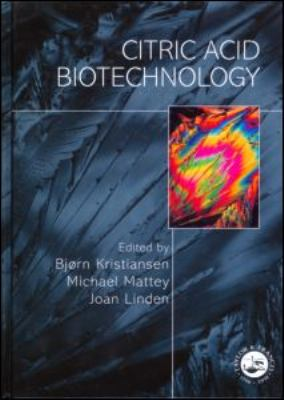 Citric Acid Biotechnology   1998 9780748405145 Front Cover