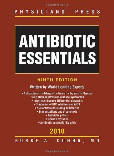 Antibiotics Essentials 2010  9th 2010 (Revised) 9780763792145 Front Cover