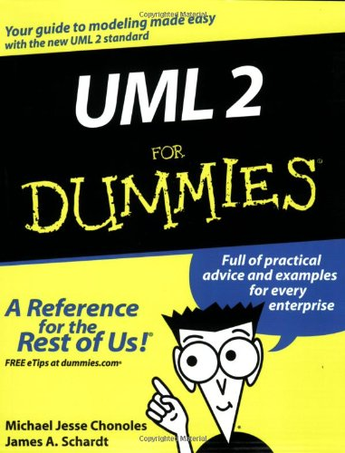 UML 2 for Dummies   2003 edition cover