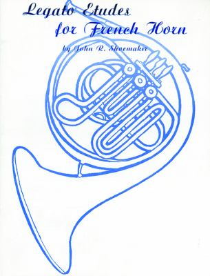 Legato Etudes for French Horn   1985 edition cover