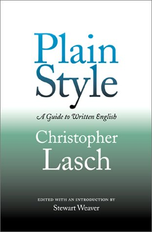 Plain Style A Guide to Written English  2002 9780812218145 Front Cover