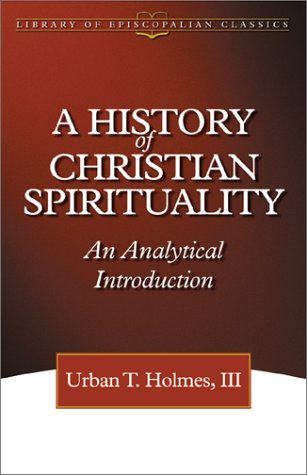 History of Christian Spirituality An Analytical Introduction  2002 edition cover