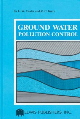 Ground Water Pollution Control   1985 9780873710145 Front Cover
