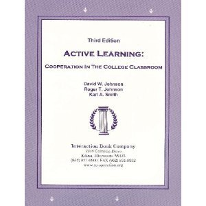 Active Learning Cooperation in the College Classroom  1998 (Teachers Edition, Instructors Manual, etc.) edition cover