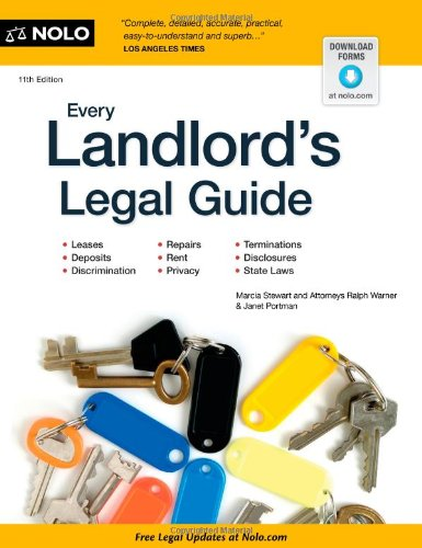 Every Landlord's Legal Guide  11th 2012 (Revised) edition cover