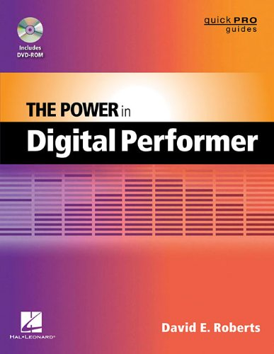 Power in Digital Performer   2012 edition cover