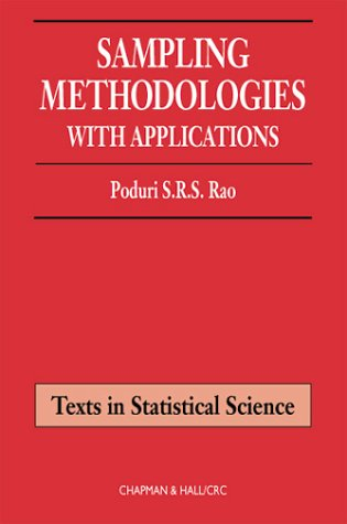 Sampling Methodologies With Applications  2000 9781584882145 Front Cover