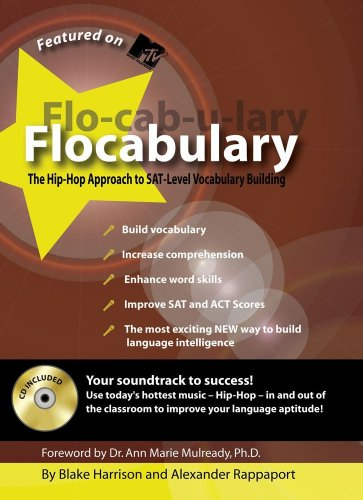Flocabulary The Hip-Hop Approach to SAT-Level Vocabulary Building  2006 9781933662145 Front Cover