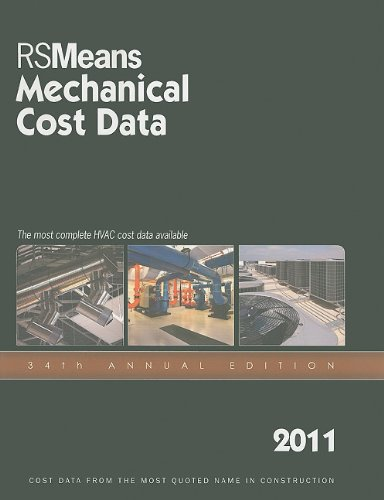 2011 Mechanical Cost Data  34th 2010 9781936335145 Front Cover