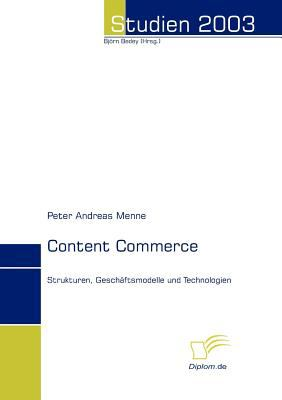 Content Commerce   2008 9783832479145 Front Cover