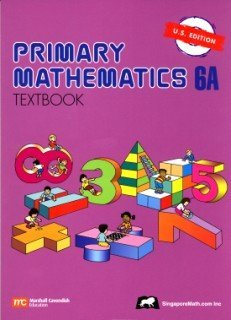 Primary Mathematics 6A Textbook  N/A edition cover