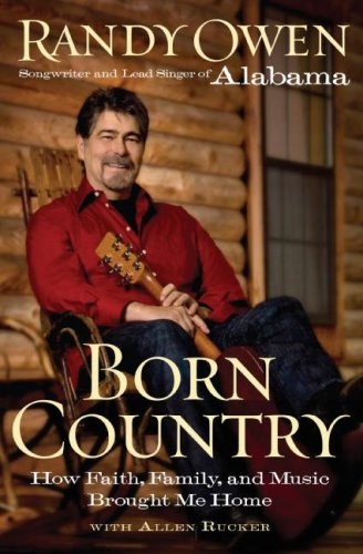 Born Country How Faith, Family, and Music Brought Me Home  2008 9780061673146 Front Cover