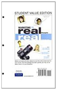 Marketing Real People, Real Choices, Student Value Edition 7th 2012 edition cover